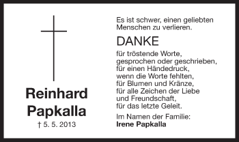 Zur Gedenkseite von Reinhard Papkalla